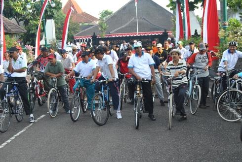 Sepeda Santai HUT Purbalingga