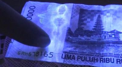 Penampakan Pocong di Uang Rp. 50 ribu di Kemangkon Purbalingga