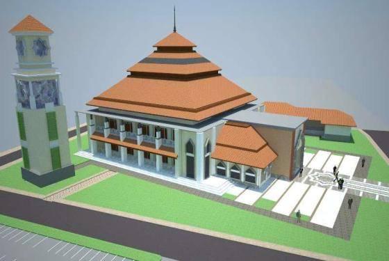Rencana Pembangunan Masjid Besar SMA Negeri 1 Purbalingga